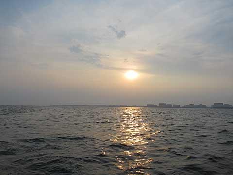 東京湾-夕陽